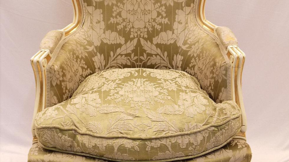 Sehr schöner, älterer Vintage-Sessel, Stil Barock... -B-