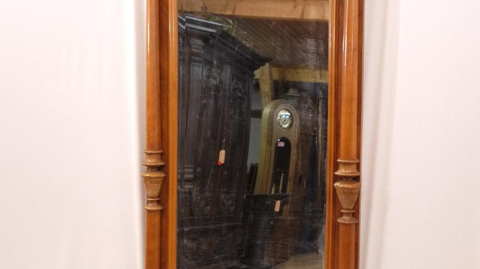 Schöner, alter Vollsäulen-Spiegel des Historismus um 1880