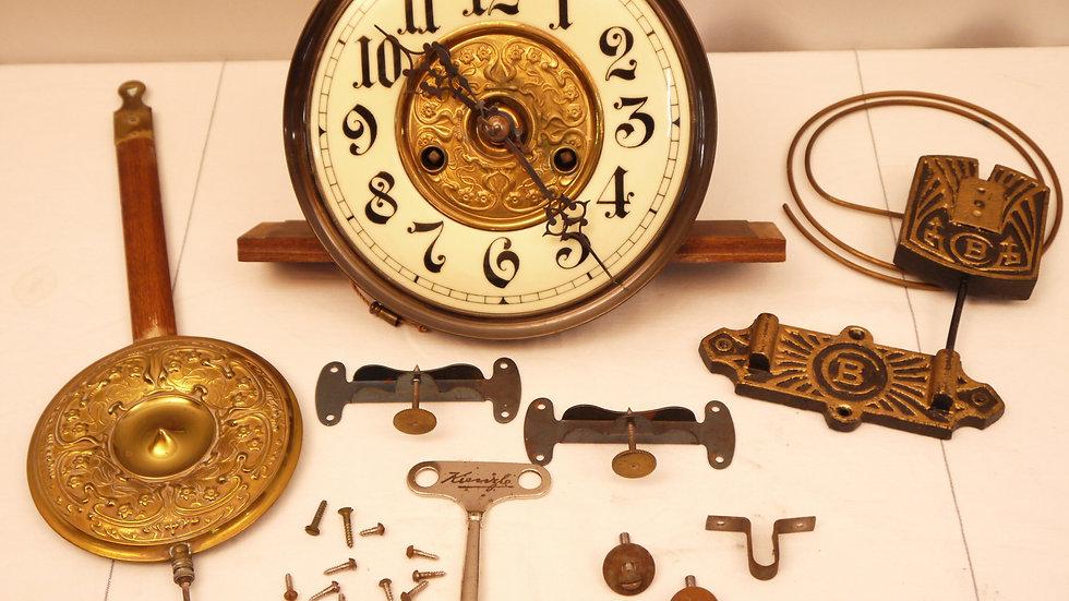 """Altes Freischwingerwerk: """"Badische Uhrenfabrik"""", um 1880/1890..."""