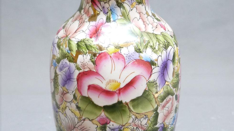 """Schöne Asiatika-Porzellan-Vase """"Blumendekor""""..."""