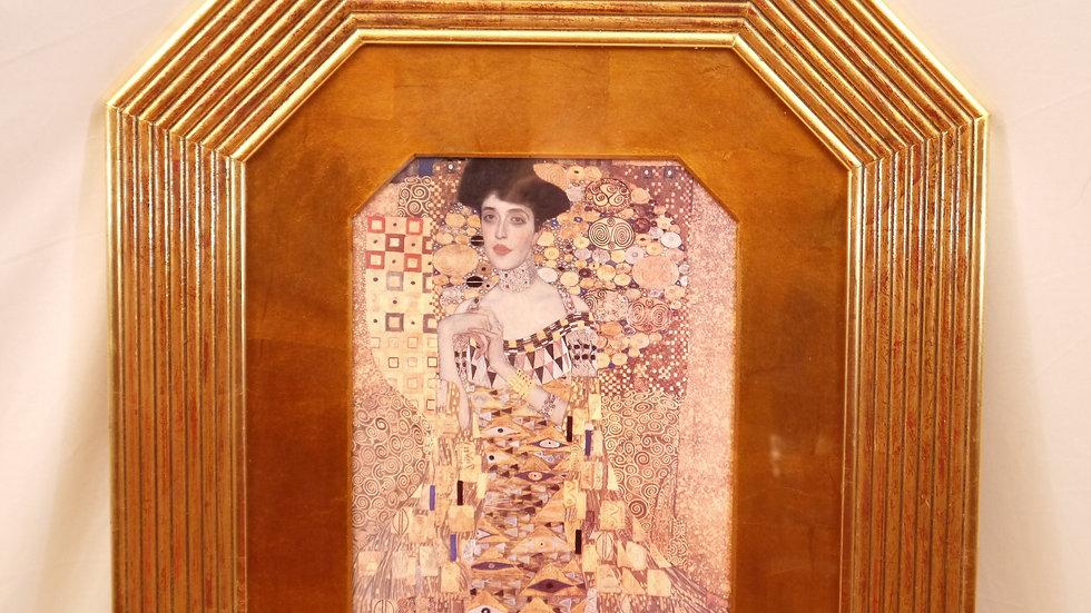 Sehr schönes Wandbild: Gustav Klimt, aufwendig gerahmt