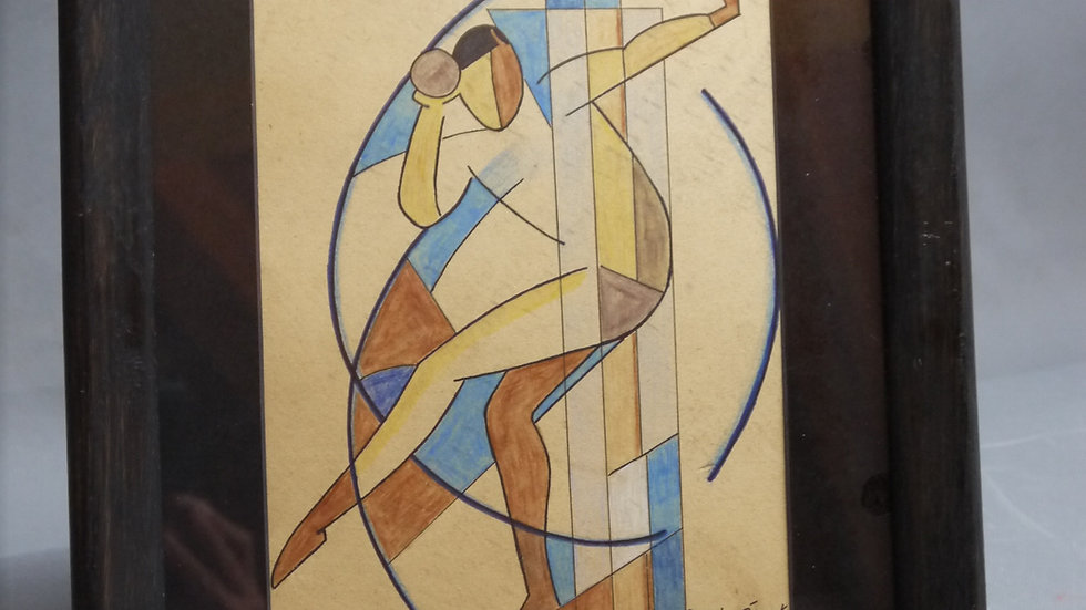 """Josef Capek"" Künstler des Kubismus..."