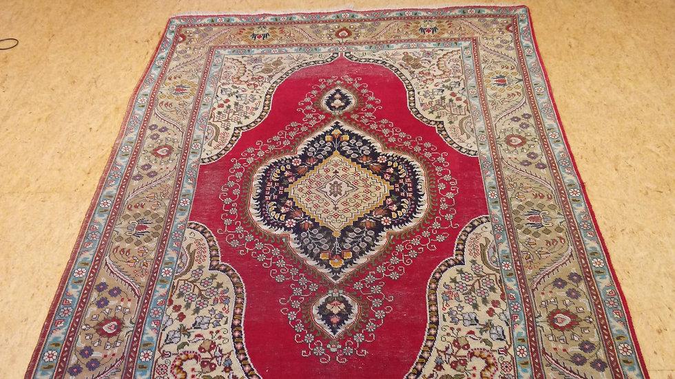 Schöner, älterer handgeknüpfter Orient-Teppich: 301 x 189 cm.