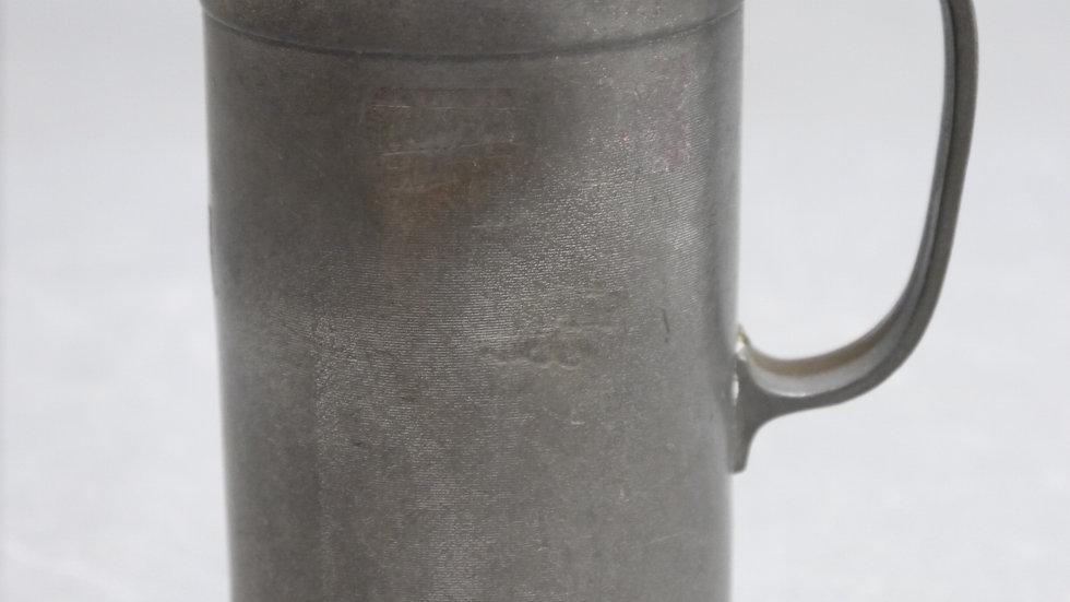 Schönes altes Hohlmaß aus Zinn, 1/4 Liter dat. 1887!!!....