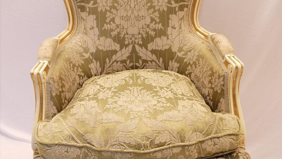 Sehr schöner, älterer Vintage-Sessel, Stil Barock... -A-