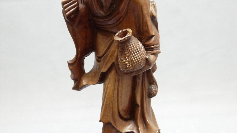 Stilvolle, asiatische Holz-Figur...