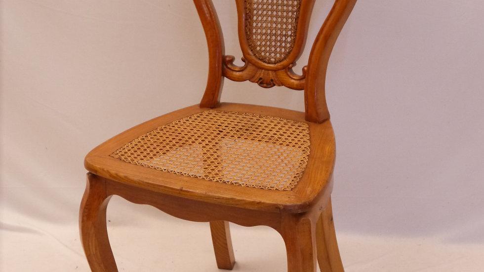 Sehr schöner Eschen-Stuhl, Louis Philippe ...