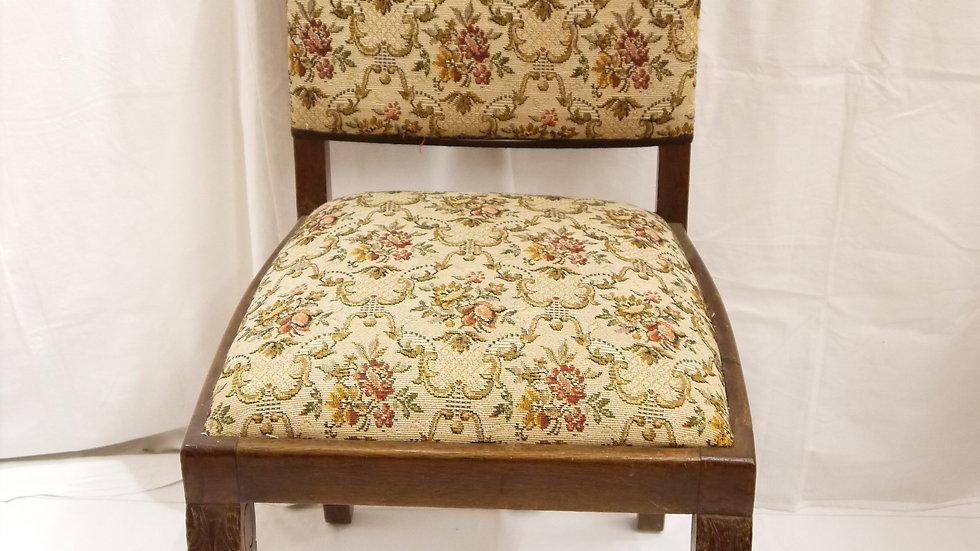 """Sehr schöner alter Tatzen-Stuhl """"Eiche um 1920""""..."""