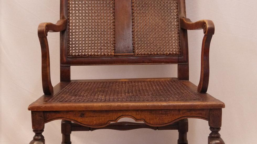 Sehr schöner alter orig. Barock-Armlehnstuhl, 18. Jahrhundert !!!...