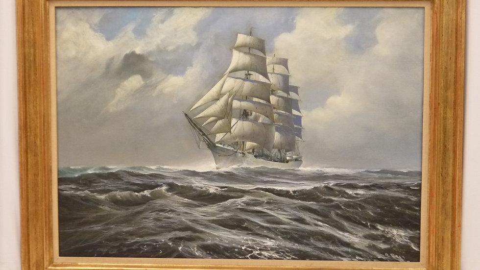 """Sehr schönes maritimes Gemälde der """"Prinzeß Eitel Friedrich"""""""