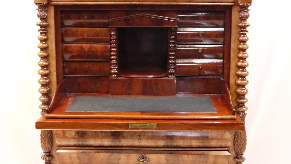 Sehr schöner Mahagoni-Sekretär/Schreibschrank, um 1850/1870...