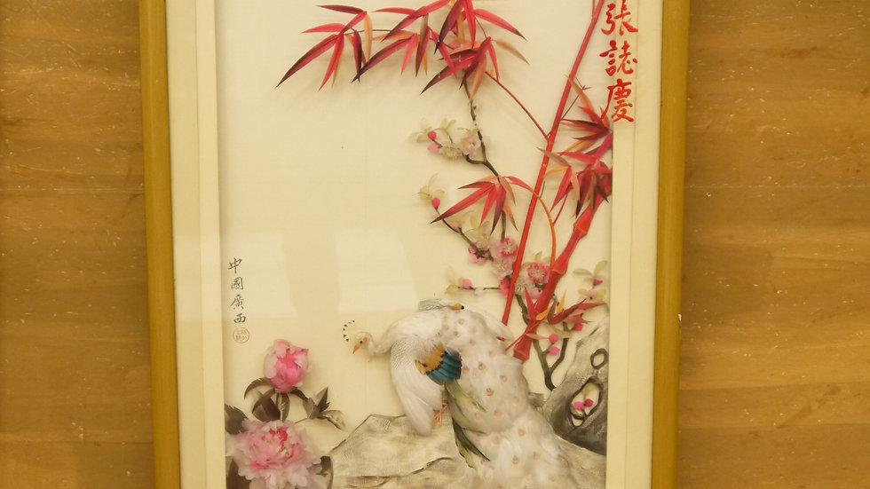 Schönes stilvolles, asiatisches Diorama...