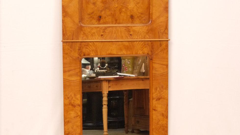 Sehr schöner Eschen-Spiegel des  Louis Philippe, um 1870/1890
