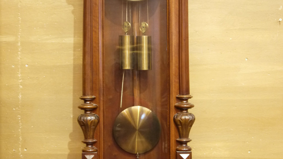 Prächtiger Wiener-Regulator, GUSTAV BECKER, Historismus um 1880