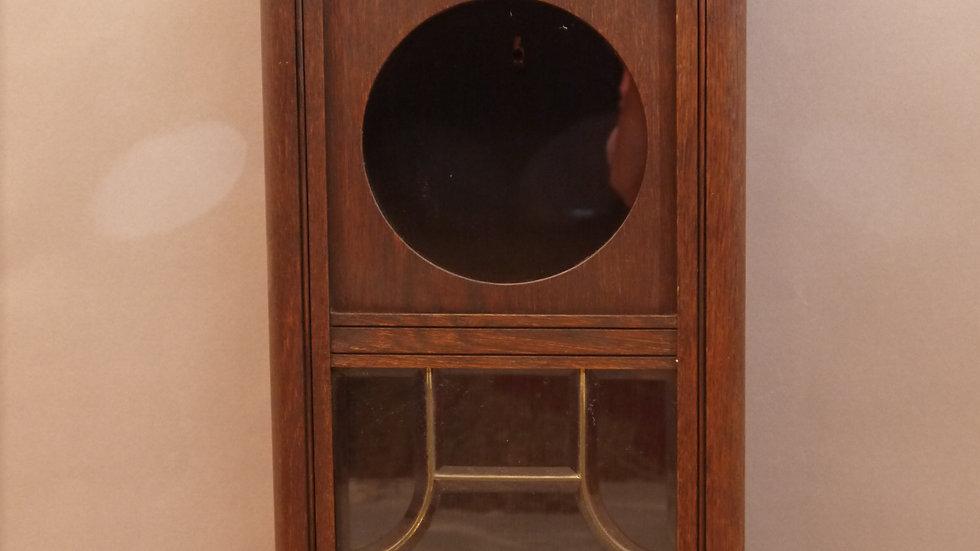 Schöner alter Uhrenkasten, Eiche, um 1920...