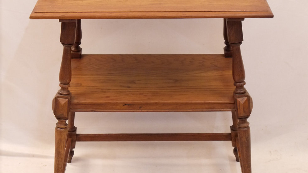 """Sehr schöner """"Gründerzeit"""" Beistell-Tisch, Eiche um 1880..."""