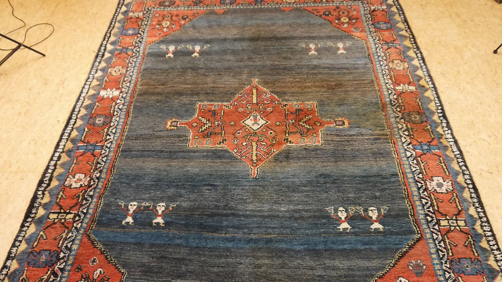 Sehr schöner, großer, älterer Gabbeh-Teppich...