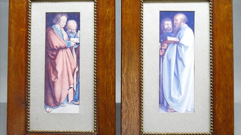 """2 Bilder: """"Die 4 Apostel"""", nach A. Dürer..."""