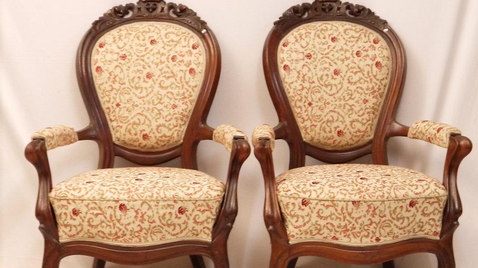 2 sehr schöne Louis Philippe Sessel
