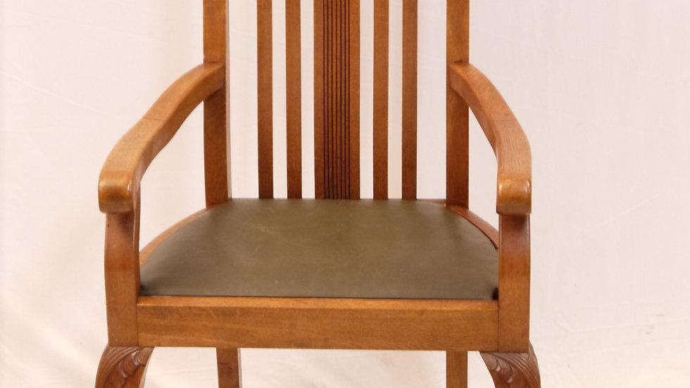 Schöner, großer Armlehnstuhl, Stil Barock, um 1920/30.