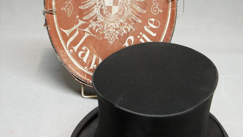 Sehr schöner, alter Chapeau Claque, Welt-Beste-Marke-Unzerbrechlich
