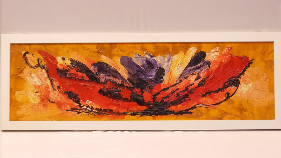"Abstraktes Ölgemälde des "" Arie Jean van Buytene"" ..."