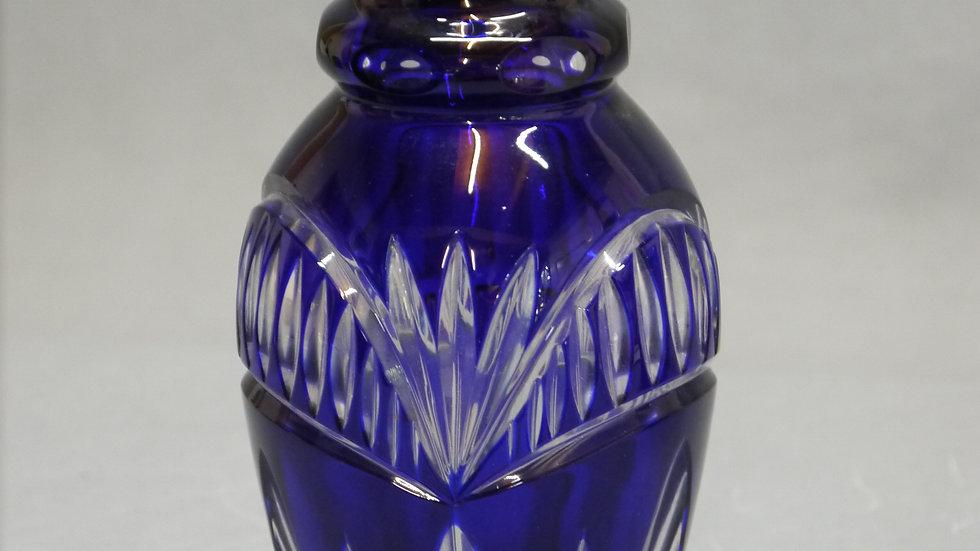 Sehr schöne Überfang-Krislall-Vase...