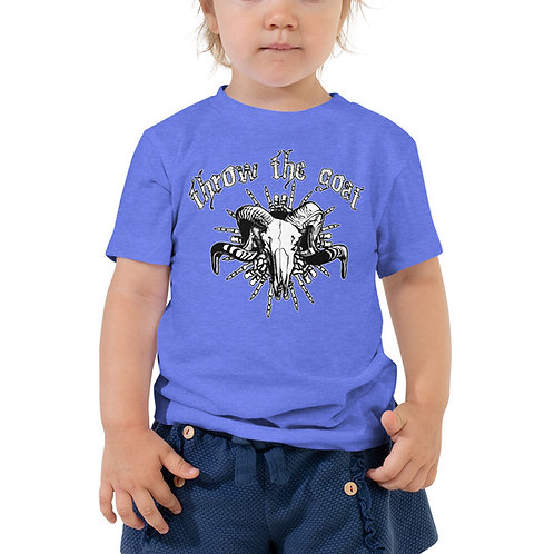 """Skull Hands"" Toddler Short Sleeve Tee"