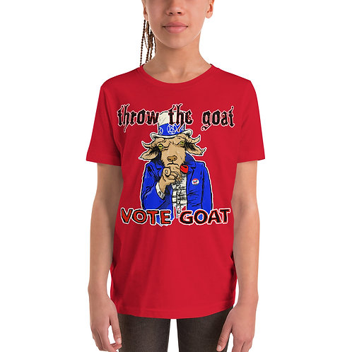 """Vote Goat Sam"" Youth Short Sleeve T-Shirt"