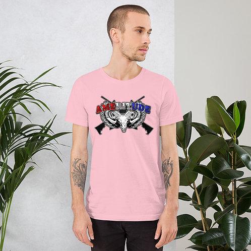 """""""Ameritude"""" Short-Sleeve Unisex T-Shirt"""