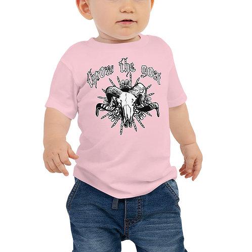 """""""Skull Hands"""" Baby Jersey Short Sleeve Tee"""