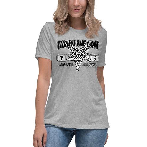 """Thrash Goat"" Women's Relaxed T-Shirt"