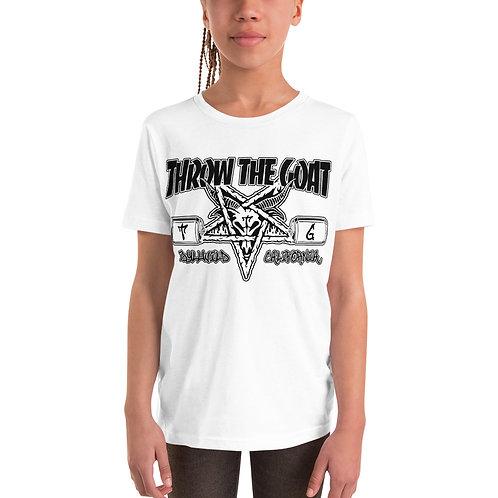 """""""Thrash Goat"""" Youth Short Sleeve T-Shirt"""