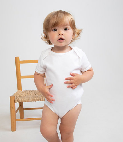 LW55 Larkwood Short Sleeve Baby Bodysuit