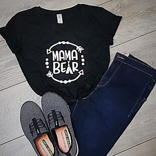 Mama Bear T-Shirt Top