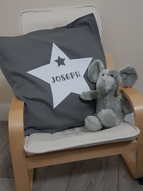 Personalised Children's Nursery / Bedroom Cushion Ideal For Bed Or Chair
