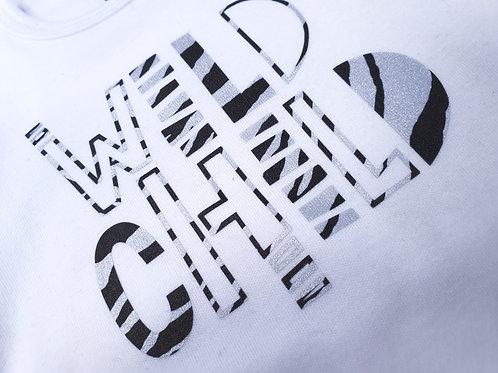 Wild Child Zebra Print Baby Vest Ideal for Baby Shower Gift New Baby Gift Unisex
