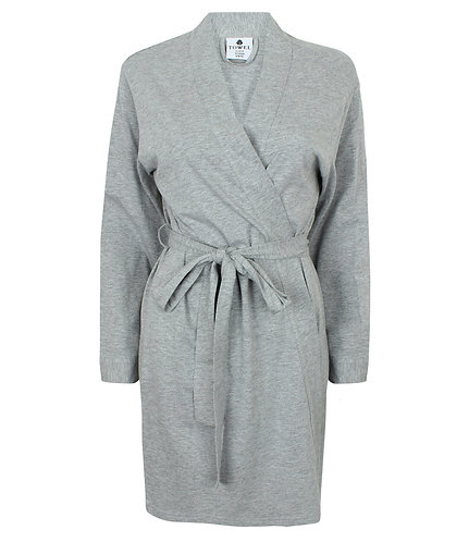 Towel City Ladies Cotton Wrap Robe (TC50)