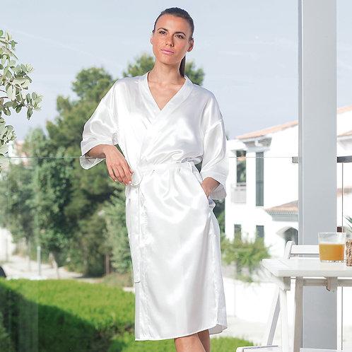 TC54 Towel City Ladies Satin Robe