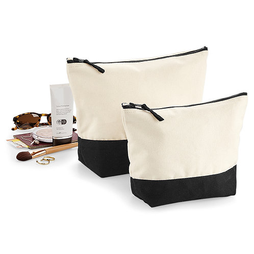 Westford Mill Dipped Canvas Accessory Make Up Bag (W544)