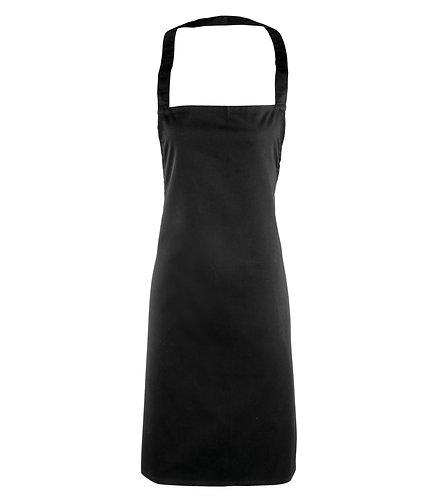 PR165 Premier Black Essential Bib Apron