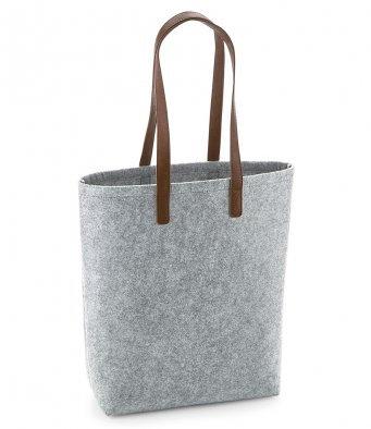 BG738 BagBase Premium Felt Tote Bag