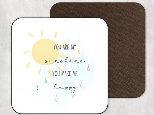 You Are My Sunshine Mug & Coaster