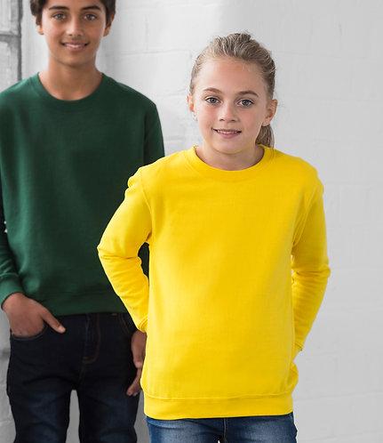 AWDis Sweatshirt Jumper Drop Shoulder Unisex Children's Junior Sized (JH030B)