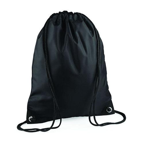 BagBase Polyester Water Resistant Gymsac Drawstring Bag (BG10)