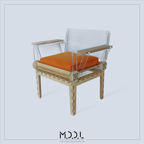 Arm Chair by M.D.D.L Architects