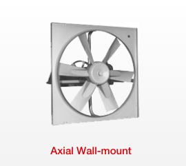 Sidewall Propeller Exhaust Fans