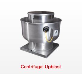 Centrifugal Upblast Fans