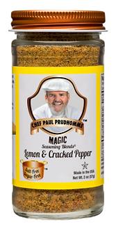 Lemon & Cracked Pepper Magic Seasoning Blend 2.0 oz.