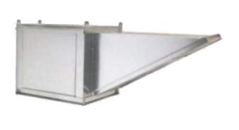 Modular Rooftop Filtered Make-Up Air Fans